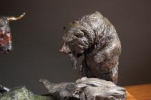Lot 364: LORENZO GHIGLIERI (Oregon, born 1931) bronze sculp