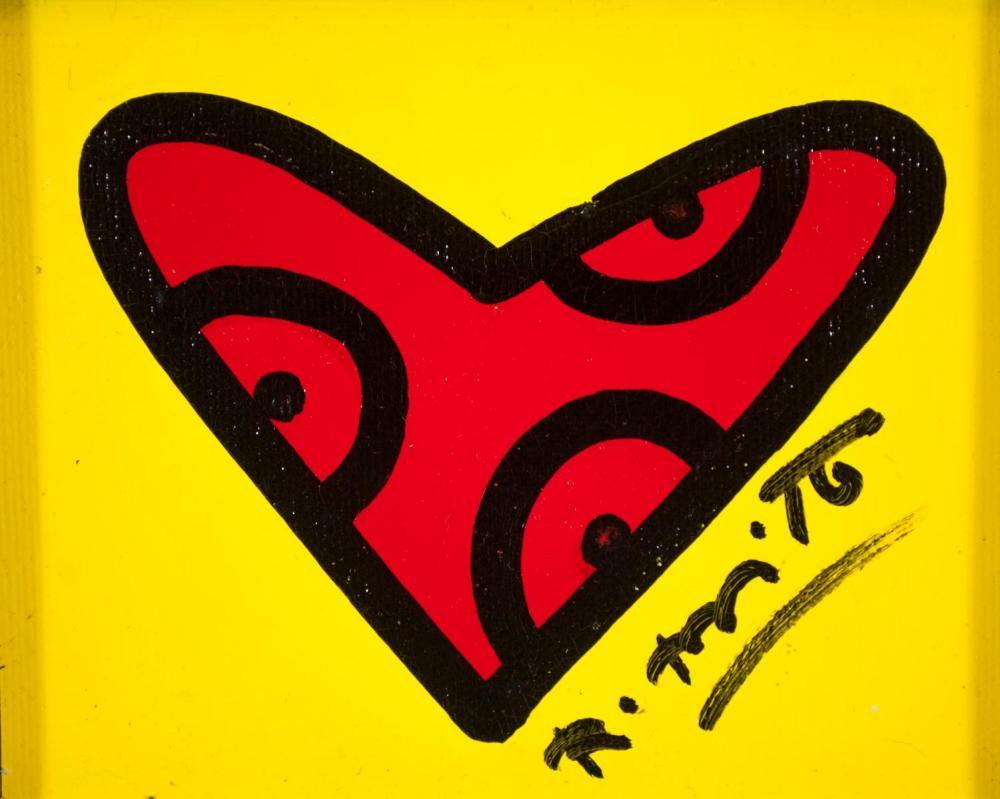ROMERO BRITTO (Florida/Brazil, born 1963) acrylic