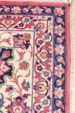 Lot 399: HAND KNOTTED PERSIAN CARPET, Isfahan design compri