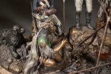Lot 400: DAVID MANUEL (Oregon, born 1940) bronze sculpture