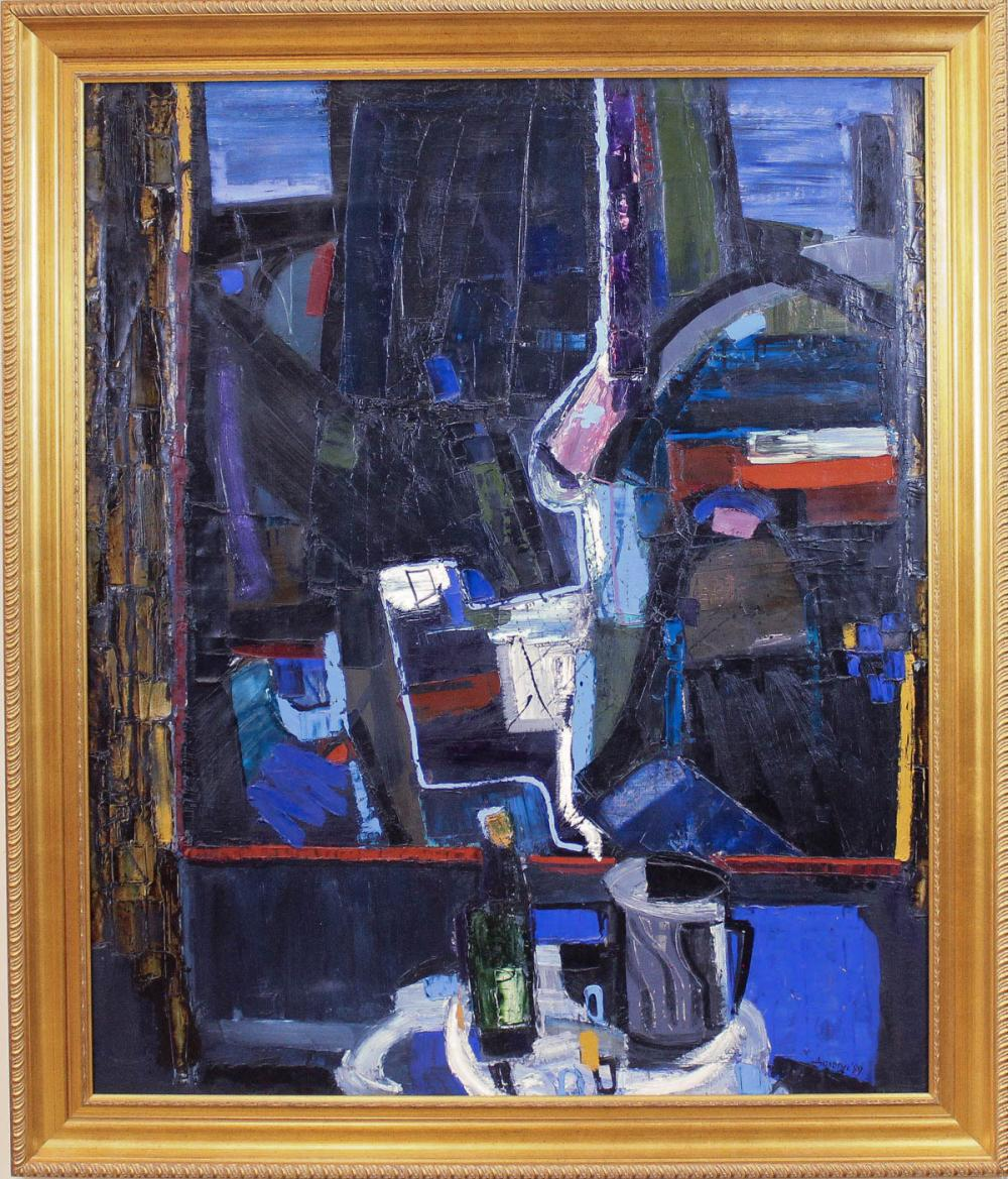 Lot 406: DOLORES DILOVA (Bulgaria, born 1960) oil on canvas