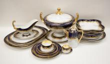 Lot 482: ONE HUNDRED FIFTY-EIGHT PIECE FISCHER & MIEG CHINA