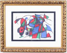 Lot 486: AFTER JOAN MIRO (Spain/France, 1893-1983) four lit
