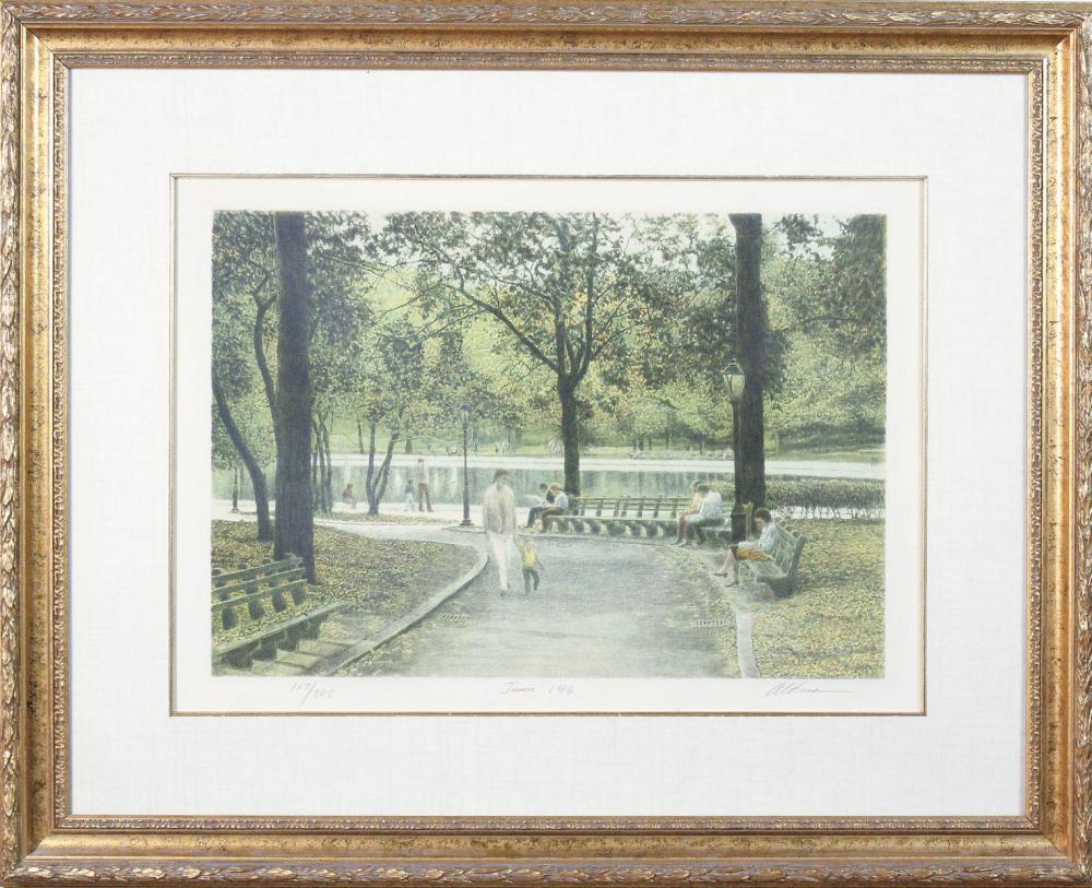 Lot 525: HARLOD ALTMAN (Pennsylvania/France, 1924-2003) lit