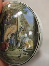 Lot 564: EIGHT PIECE ENGLISH PRATTWARE COLLECTION, by F & R