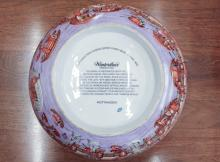 Lot 463: TWO PORCELAIN BOWLS, including a Chinese centerpie