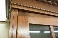 Lot 504: TWO-DOOR COUNTRY MAHOGANY CABINET, Continental, 19