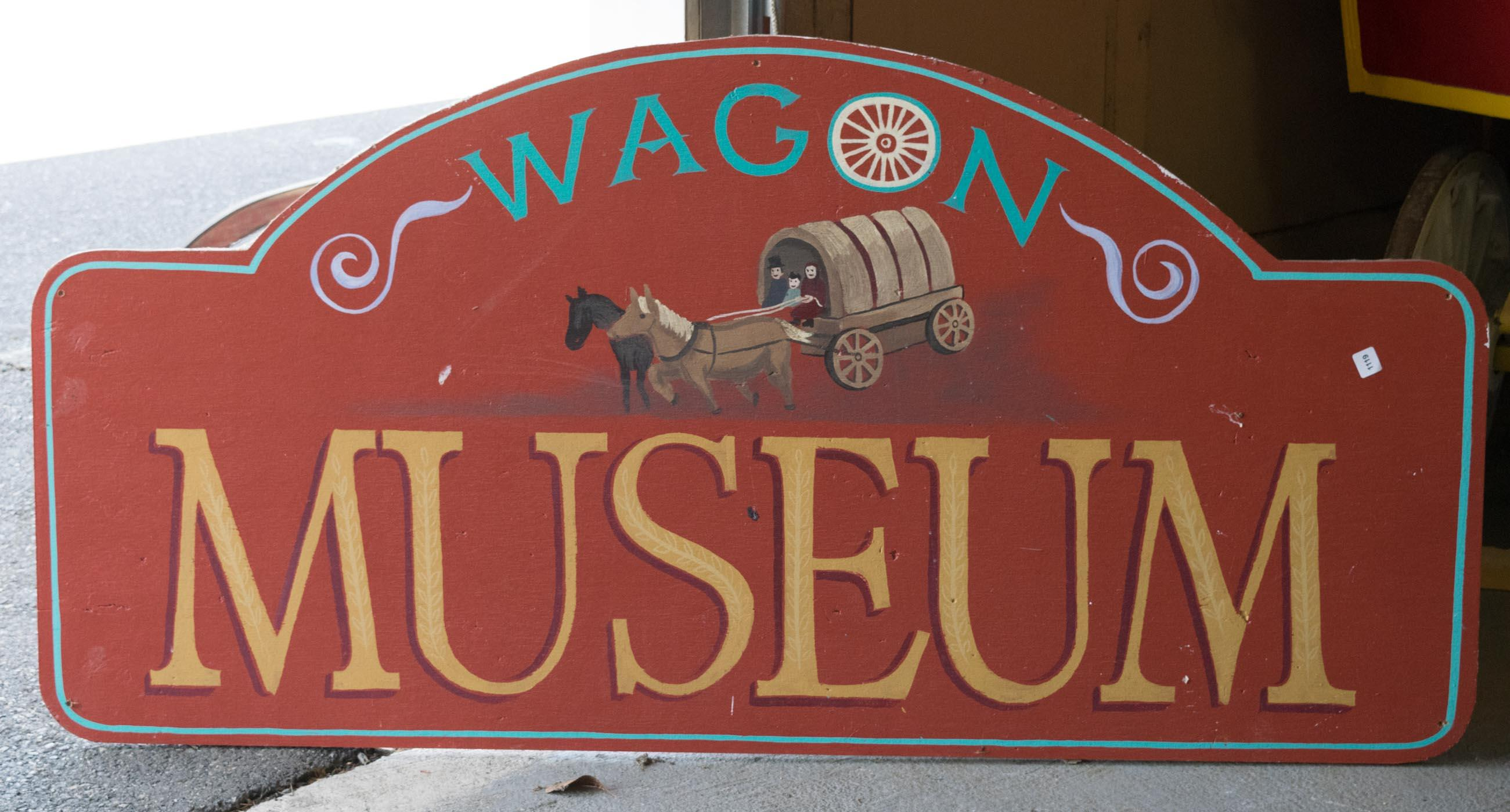 WAGON MUSEUM' SIGN