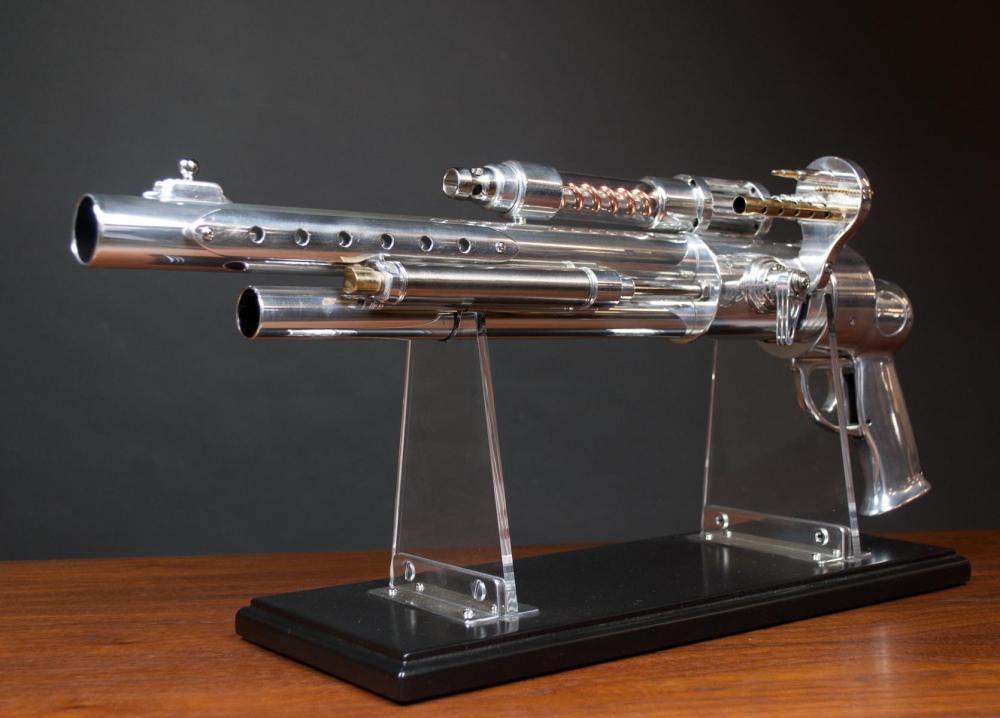 Lot 1: STEAMPUNK RAY GUN, GLENN SCHEUBREIN (Lake Oswego,