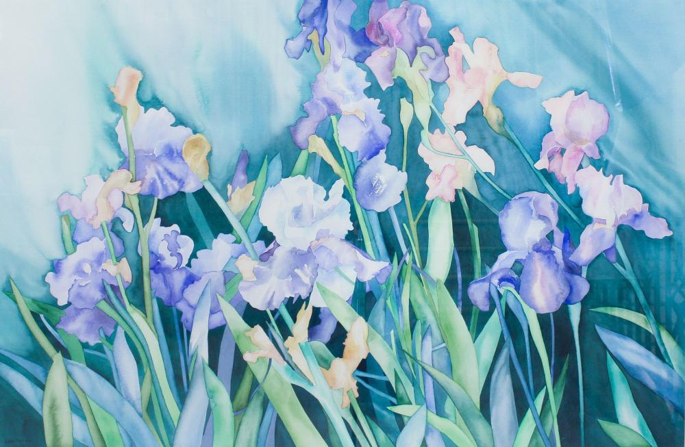 Lot 12: JOAN METCALF (Oregon, born 1934) watercolor on pap