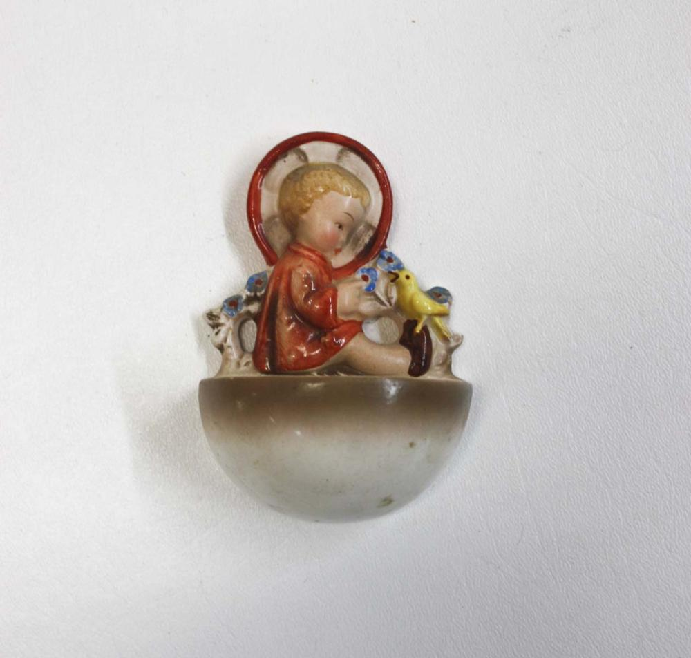 Lot 15: HUMMEL TABLE LAMP AND FIGURINES, 26 pieces with ma