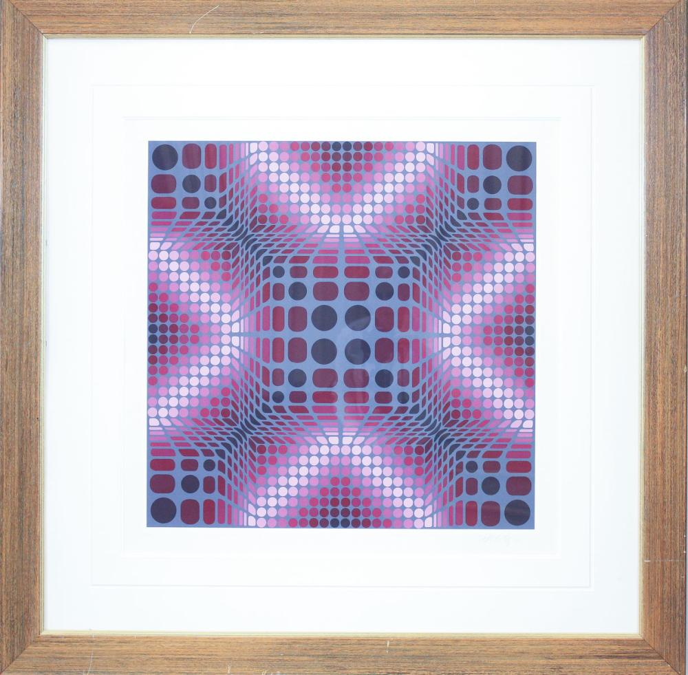 Lot 69: VICTOR VASARELY (Hungary/France, 1906-1997) serigr