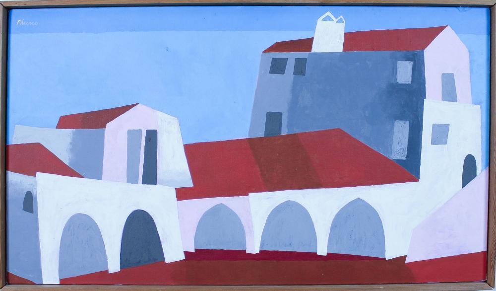 Lot 85: RUTH FLUNO (Washington, 1923-1974) acrylic on canv