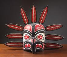 "Lot 97: NORTHWEST NATIVE AMERICAN ""SQUAMISH TRIBE"" ""EAGLE"