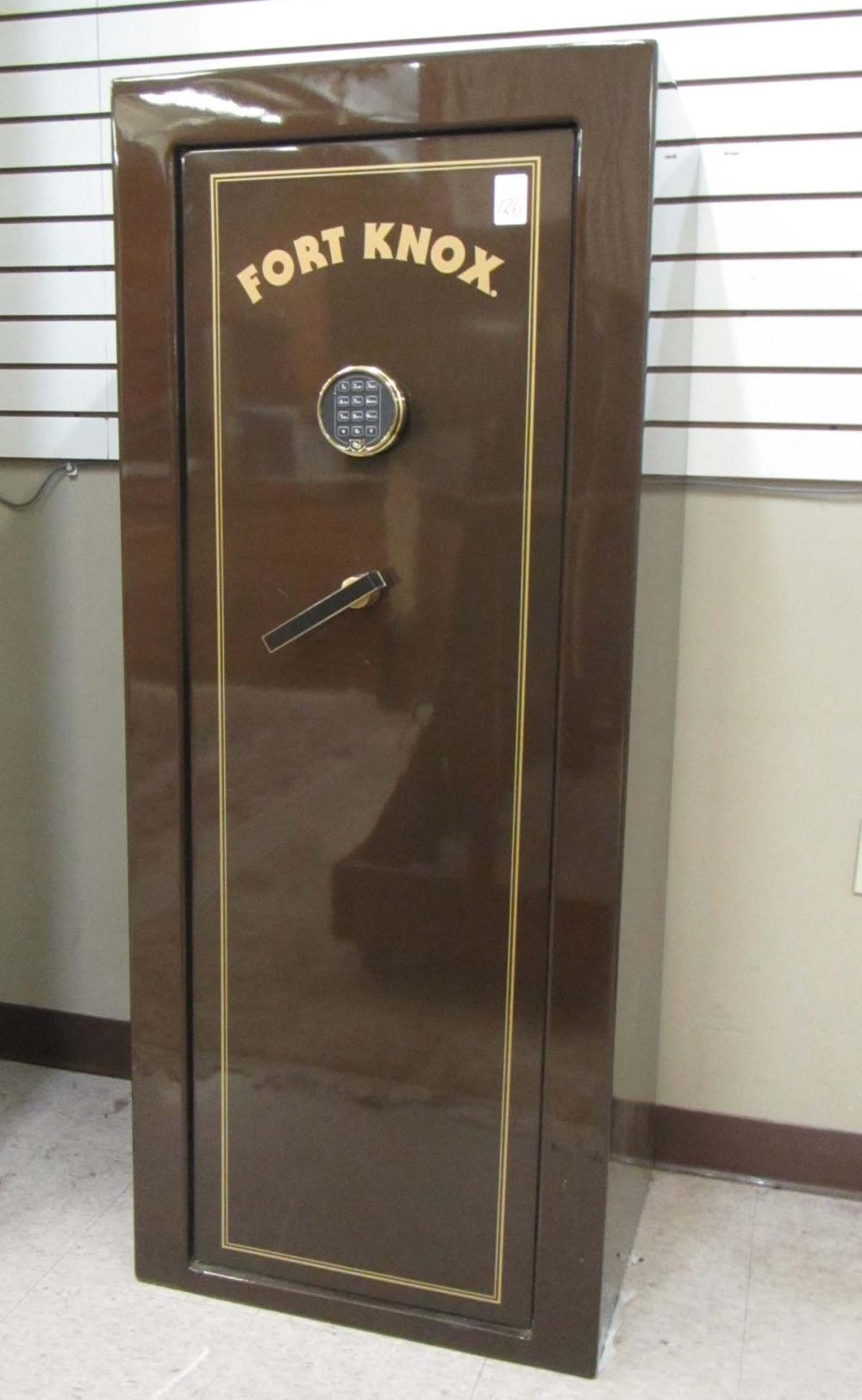 Lot 126: FORT KNOX GUN SAFE, Fort Knox Security Products, O