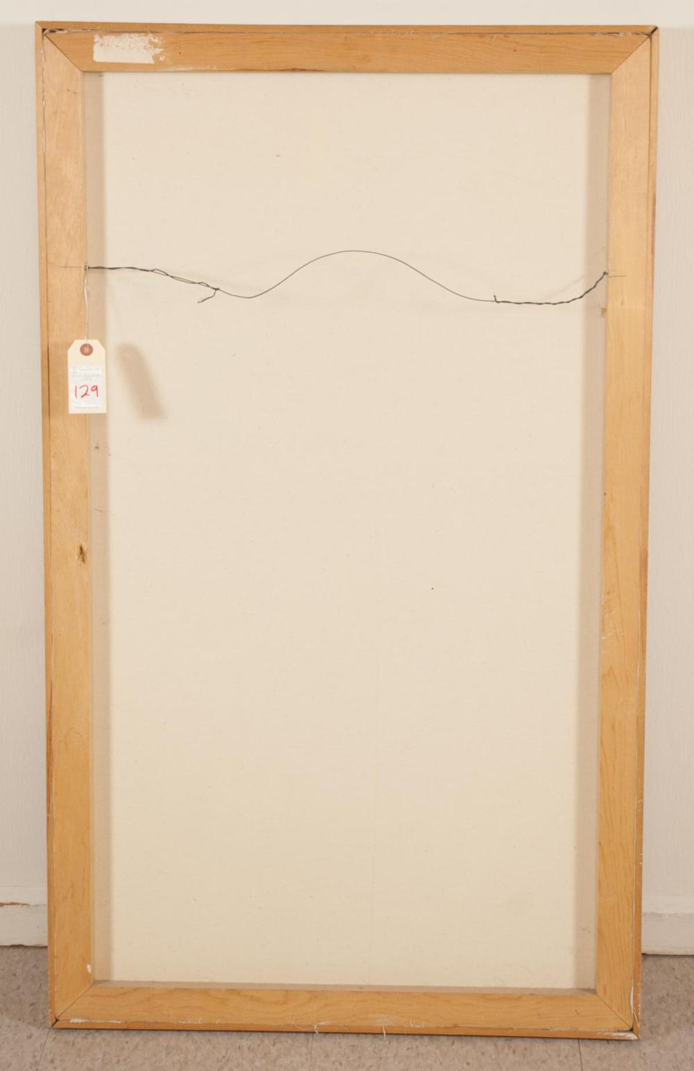 Lot 129: RUTH FLUNO (Washington, 1923-1974) acrylic on canv