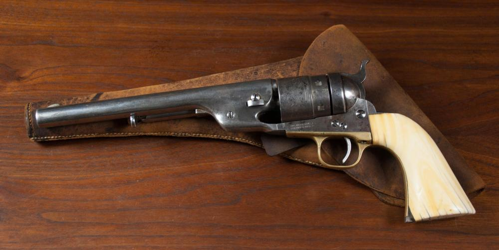 Lot 154: COLT MODEL 1860 ARMY REVOLVER WITH SECOND MODEL RI