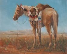 Lot 175: RON SCHAEFER (New York, born 1944) oil on canvas,