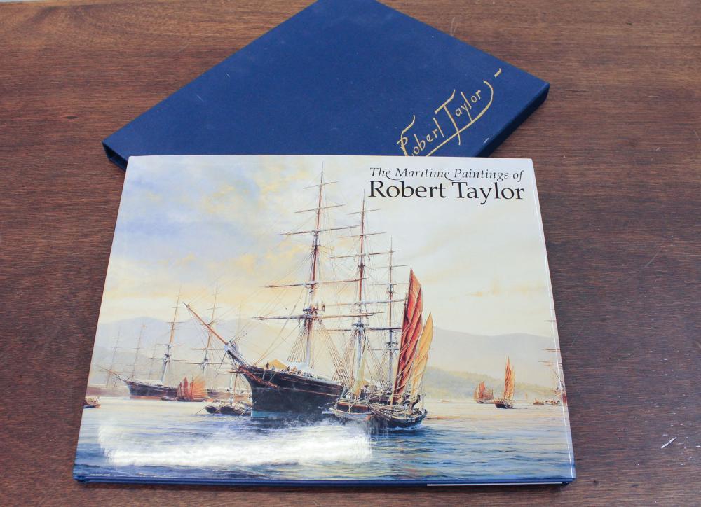 Lot 243: ROBERT TAYLOR (United Kingdom, born 1946) two offs