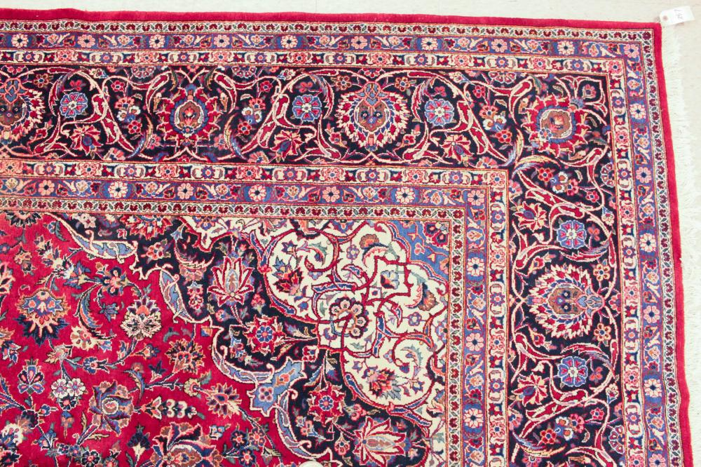 Lot 257: PERSIAN MASHAD CARPET, Razavi Khorasan Province, n