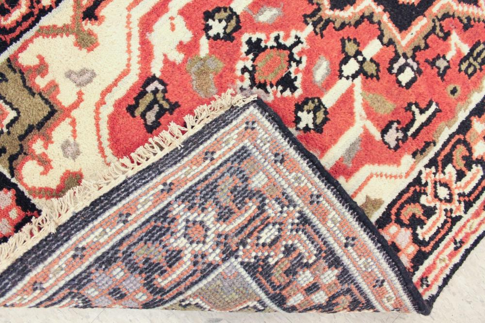 Lot 264: HAND KNOTTED ORIENTAL RUNNER, Indo-Persian Serab,
