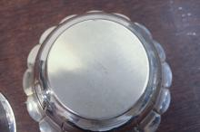Lot 5: TWO TIFFANY & CO. STERLING SILVER BOWLS, the large