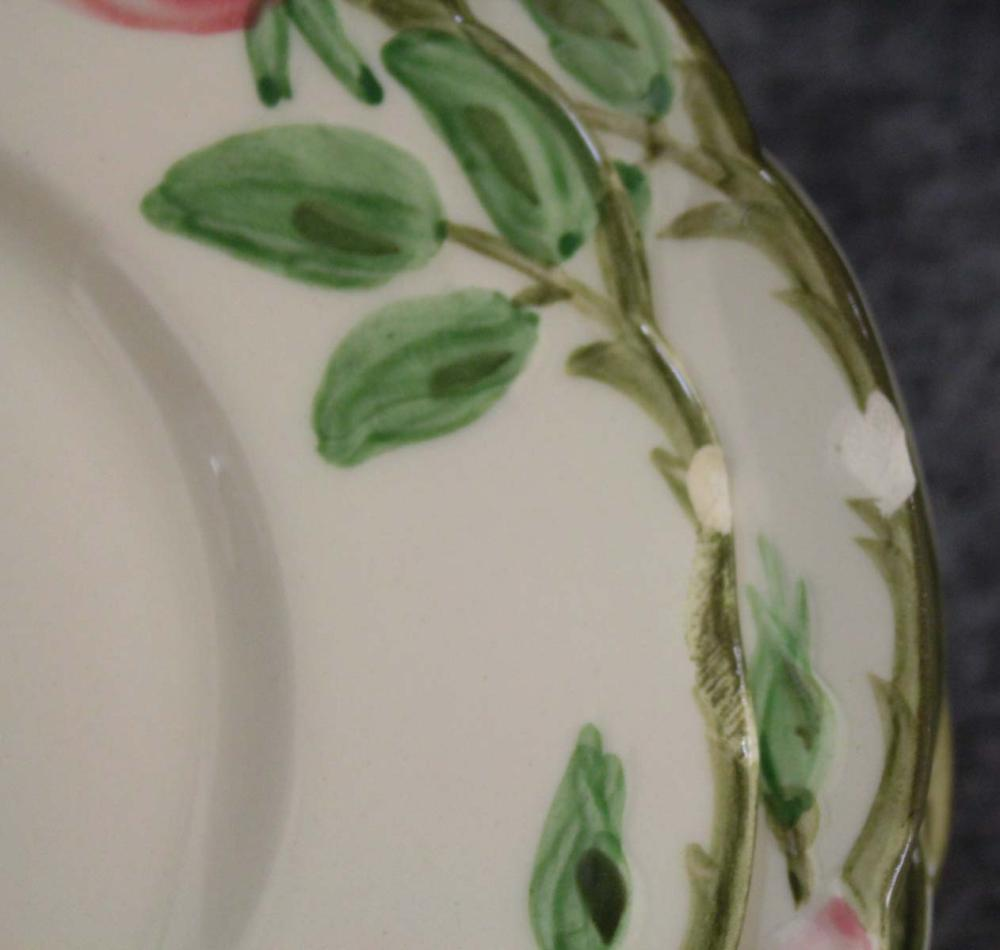 "Lot 286: FRANCISCAN ""DESERT ROSE"" DINNERWARE SET, seventy-o"