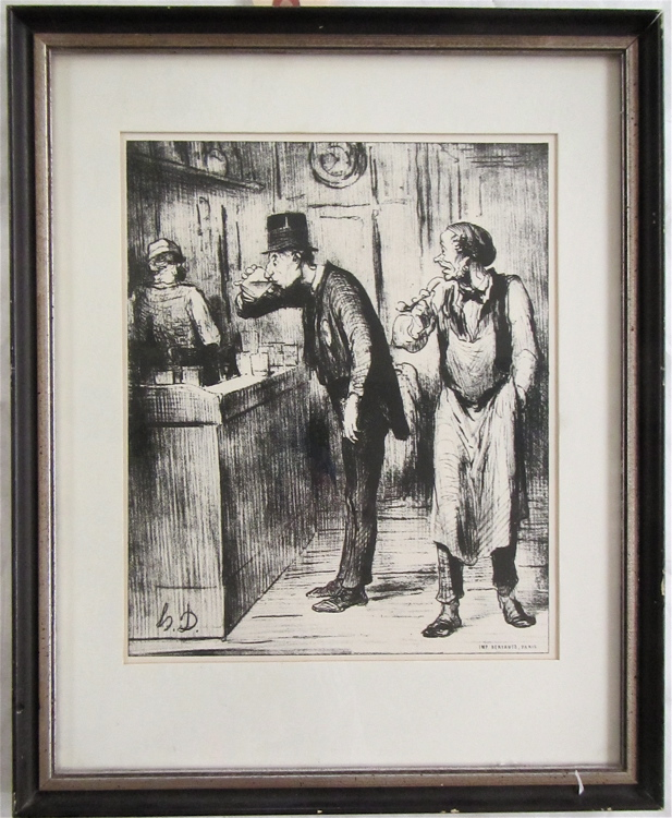 HONORE DAUMIER LITHOGRAPH (France, 1808-1879)