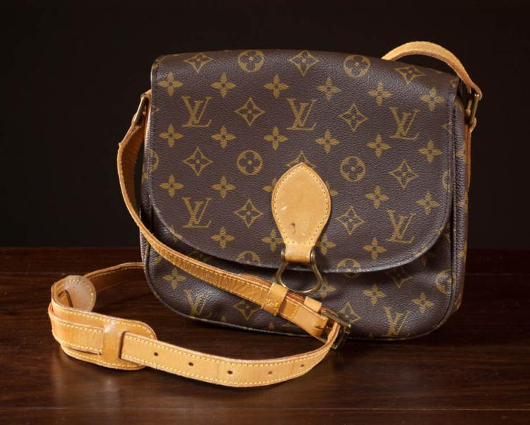 LOUIS VUITTON ST. CLOUD GM HANDBAG, monogram canv