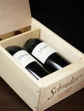 TWO CASED BOTTLES OF VINTAGE CALIFORNIA RED WINE,