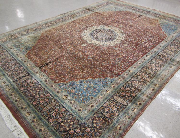 HAND KNOTTED ORIENTAL CARPET, Pakistani-Persian, f
