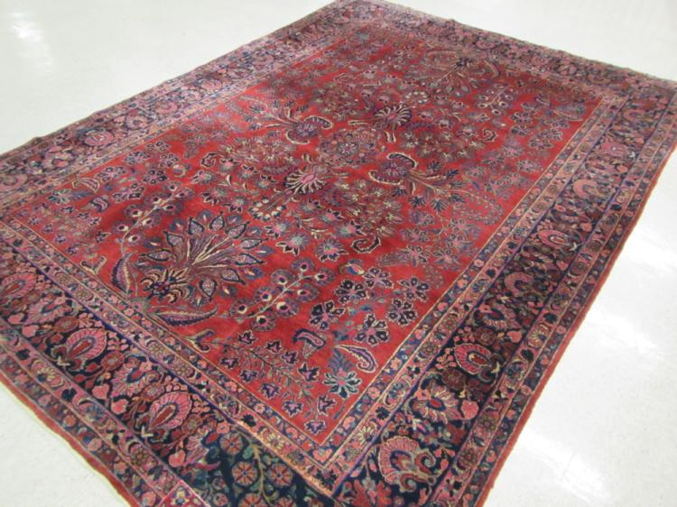 EARLY SEMI-ANTIQUE PERSIAN SAROUK CARPET, Arak reg