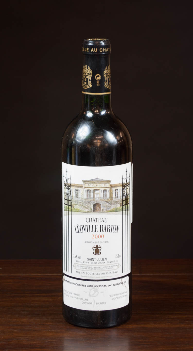 ONE BOTTLE OF VINTAGE FRENCH RED BORDEAUX WINE, Ch