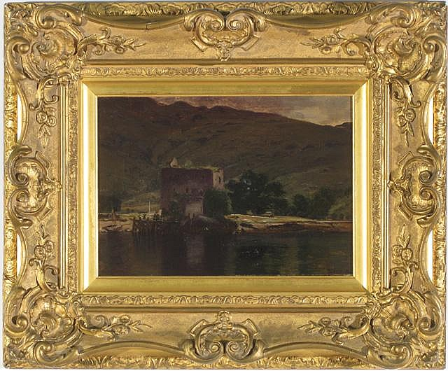 WILLIAM B. YOUNG OIL ON CANVAS (Scottish, active