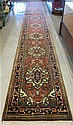 HAND KNOTTED ORIENTAL LONG RUG, Persian Serapi
