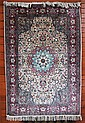 HAND KNOTTED ORIENTAL AREA RUG, high quality