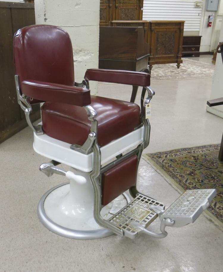 vintage barbers equipment
