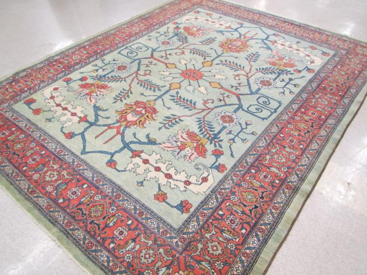 HAND KNOTTED ORIENTAL CARPET, Persian Serapi desig