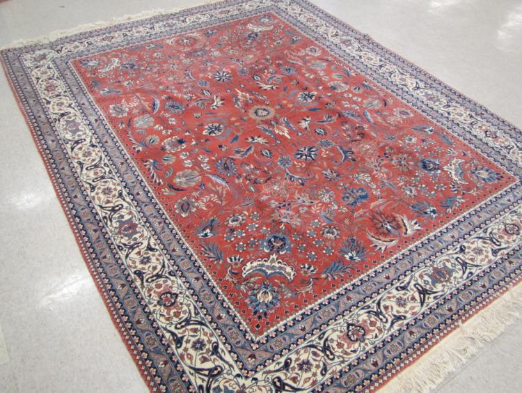 HAND KNOTTED ORIENTAL CARPET, Sino-Persian, Isfaha