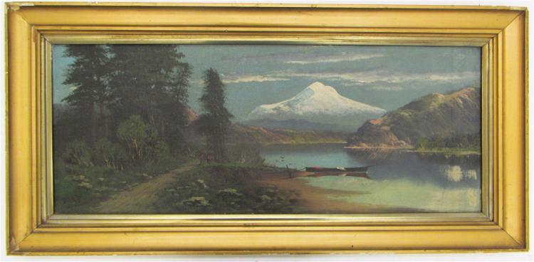 JOHN J. ENGLEHART OIL ON CANVAS (California, 1867-