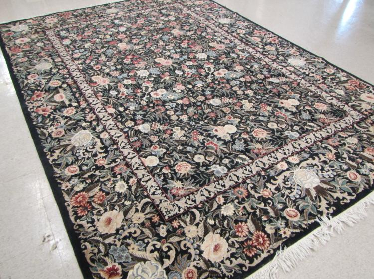 HAND KNOTTED ORIENTAL CARPET, Pakistani-Persian, o