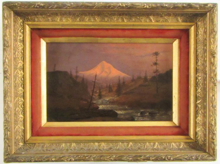 CARL JONNEVOLD OIL ON BOARD (California/Norway, 18