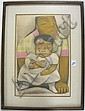 JEAN CHARLOT COLOR LITHOGRAPH (France, 1898-died