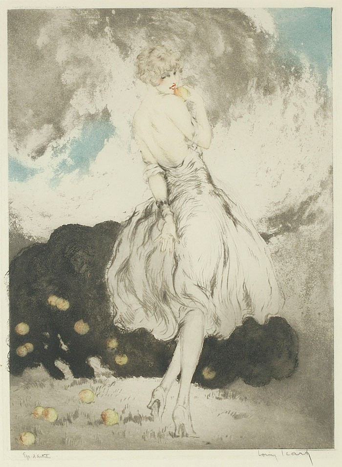 LOUIS ICART ORIGINAL ETCHING AND AQUATINT (New