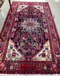 PERSIAN TRIBAL CARPET, hand knotted in an overall