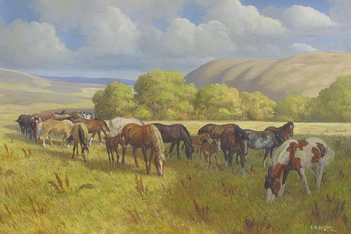EDWARD B. QUIGLEY (Portland, Oregon 1895-1986) Oil