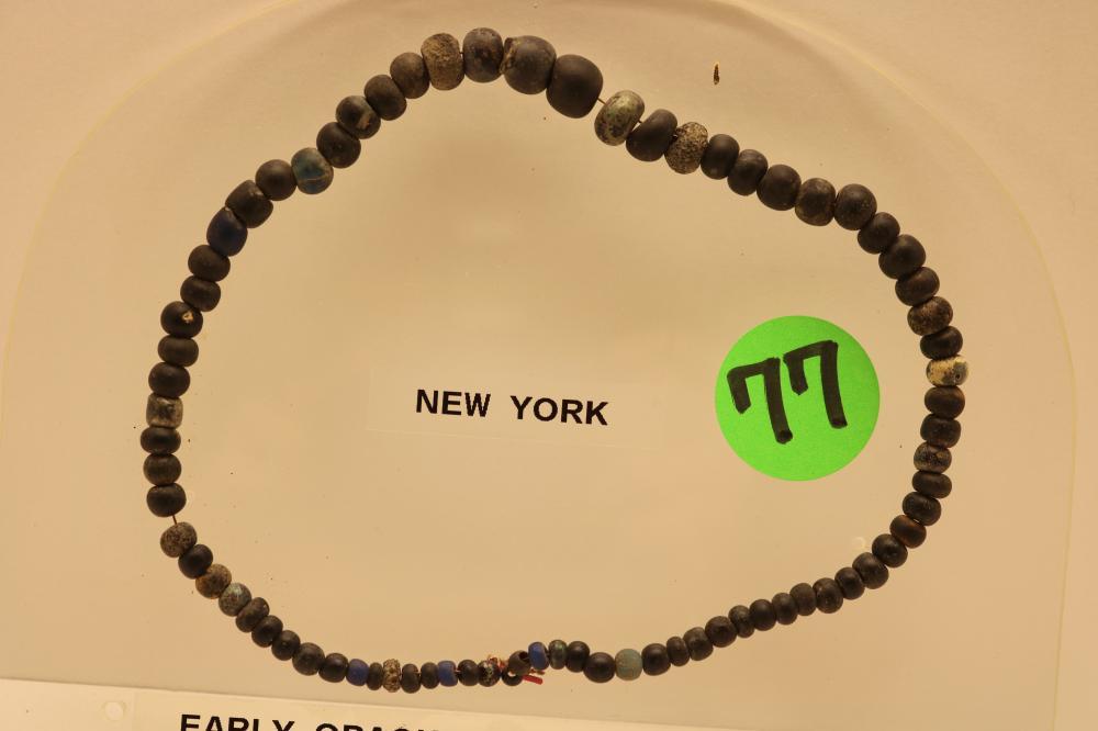 Rare New York Opaque Glass Trade Beads