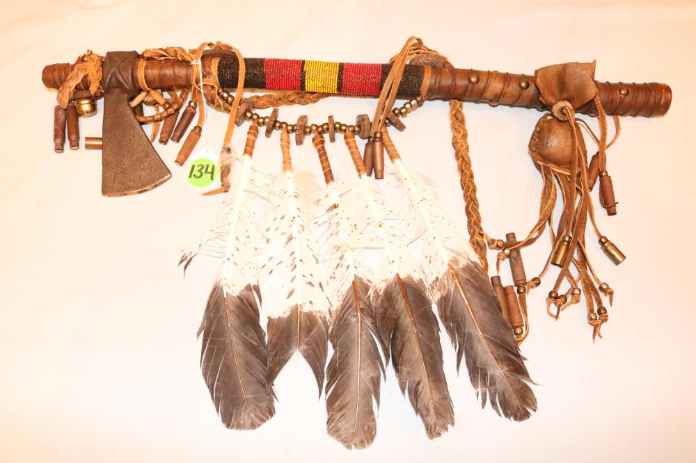Native American Chief's Axe