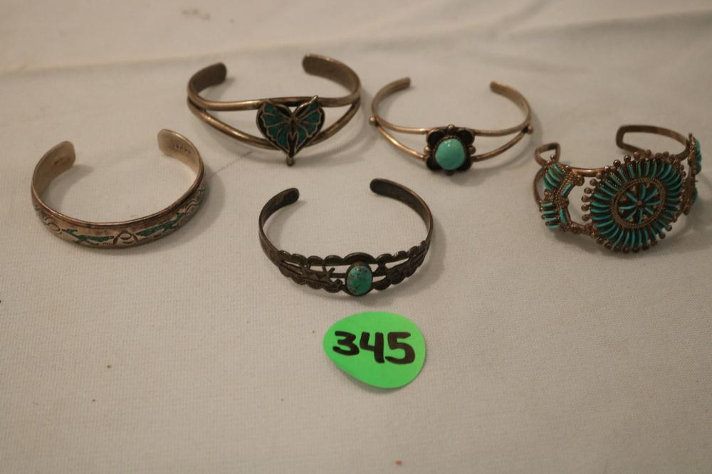 5 Indian Bracelets