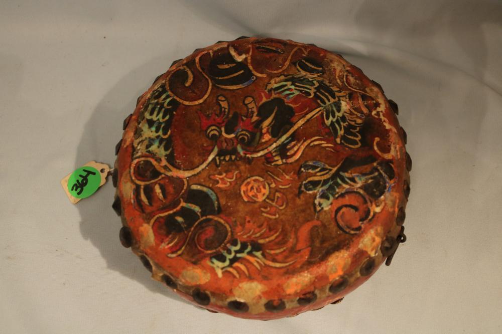 Sityatki Culture Ceremonial Dragon Drum